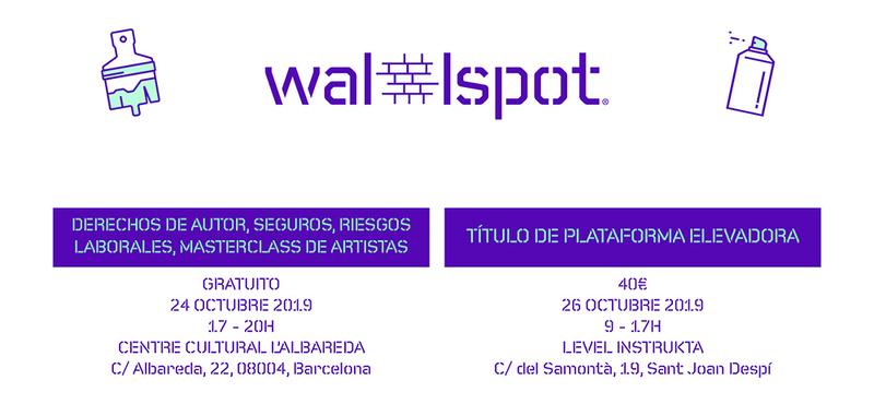 Wallspot Post - ¡BARCELONA! FORMACIONES PARA ARTISTAS REGISTRADOS EN WALLSPOT