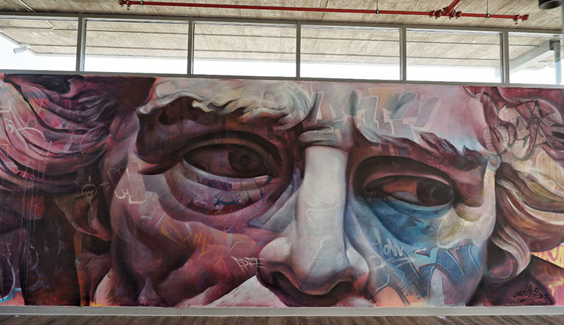 Wallspot Post - NEW PICHIAVO MURALS IN BARCELONA