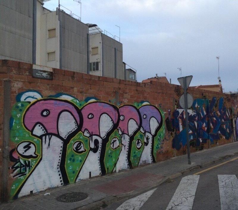 Wallspot - setabcn - S-E-T-A    Maria Reverter - Barberà del Vallès - Maria Reverter / Nemesi Valls - Graffity - Legal Walls -