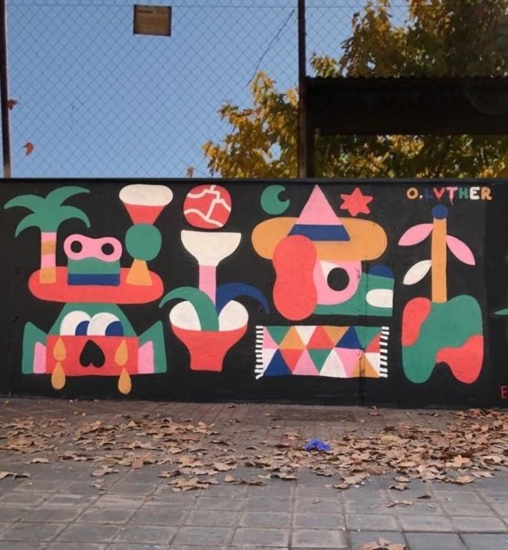 Wallspot - Osier Luther - Barcelona - Selva de Mar - Graffity - Legal Walls -