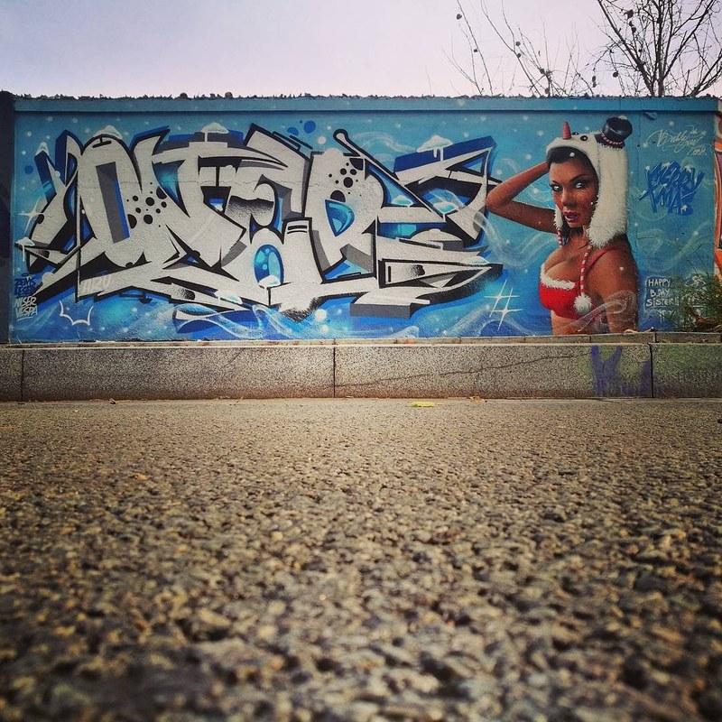 Wallspot - Oner - Barcelona - Selva de Mar - Graffity - Legal Walls -