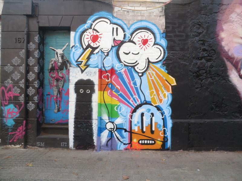 Wallspot - amvirzi - Western Town - amvirzi - Barcelona - Western Town - Graffity - Legal Walls -