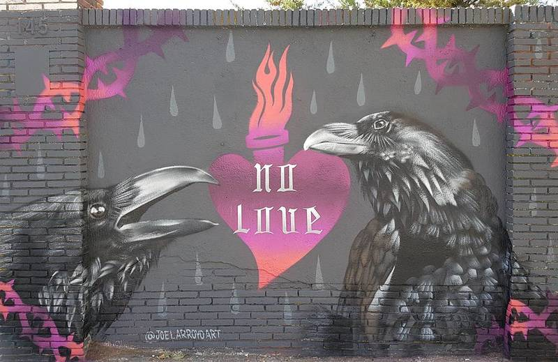 Wallspot - Joelarroyo - Barcelona - Selva de Mar - Graffity - Legal Walls -