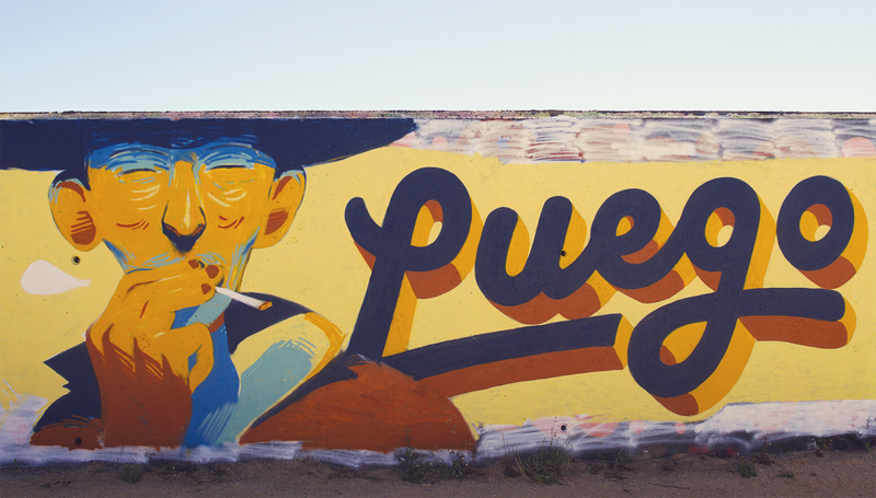 Wallspot - Jurij - Luego - Barcelona - Forum beach - Graffity - Legal Walls - Letters, Illustration