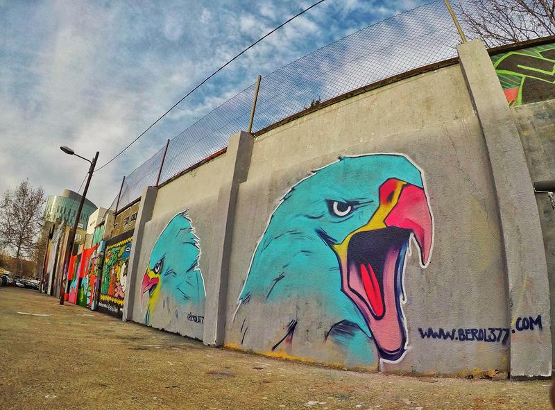 Wallspot - Berol377 - Barcelona - Agricultura - Graffity - Legal Walls -