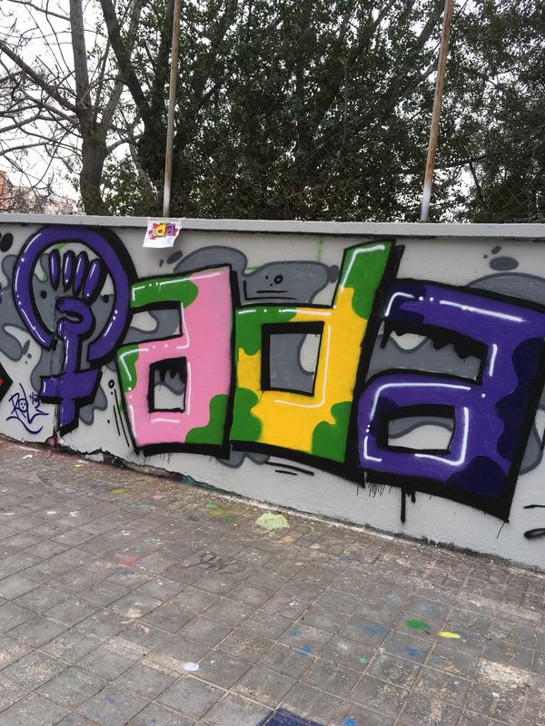 Wallspot - Rol H3 - Elia Ada - Barcelona - Agricultura - Graffity - Legal Walls - Letters
