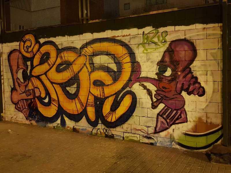 Wallspot - Jodete - Drassanes - Barcelona - Drassanes - Graffity - Legal Walls - Illustration