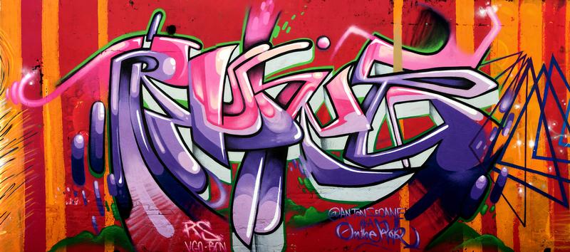 Wallspot - ROKE - Selva de Mar - ROKE - Barcelona - Selva de Mar - Graffity - Legal Walls - Letters