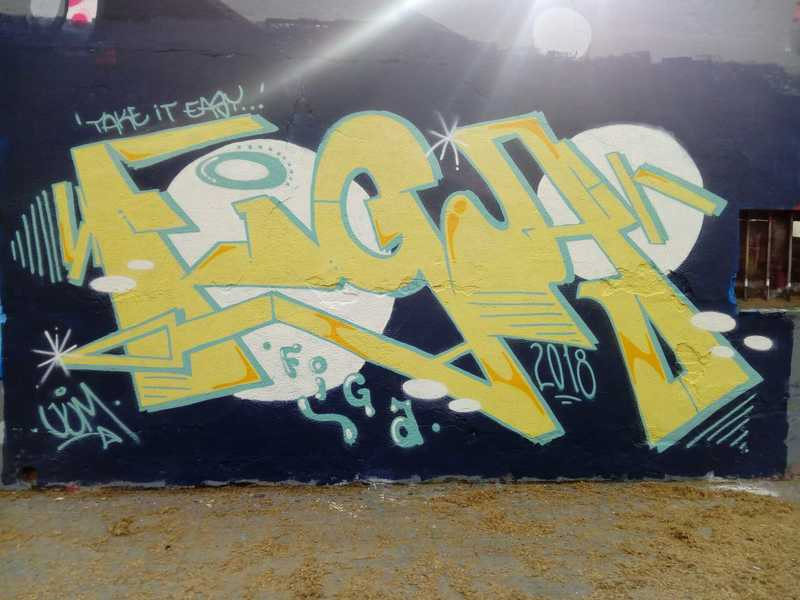 Wallspot - Figa - Barcelona - Selva de Mar - Graffity - Legal Walls -
