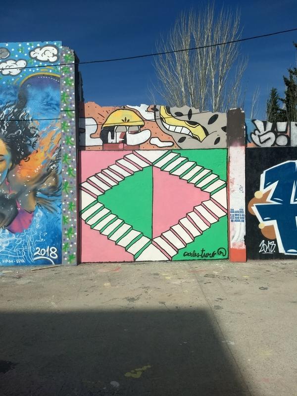 Wallspot - Carles Turó - escarles - Barcelona - Agricultura - Graffity - Legal Walls - Illustration, Others