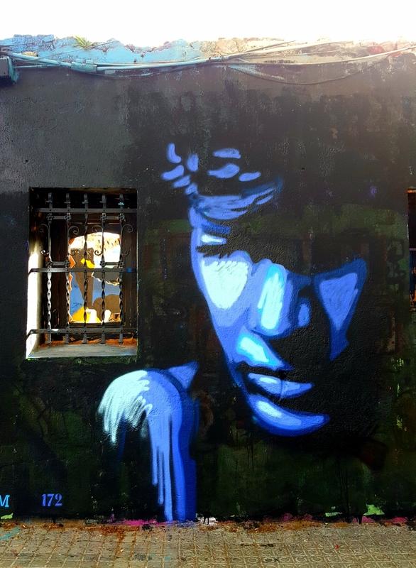 Wallspot - SM 172 - Barcelona - Western Town - Graffity - Legal Walls -