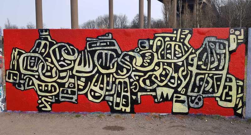 Wallspot - Ollio - Ollio - Göteborg - Draken - Graffity - Legal Walls - Illustration, Others