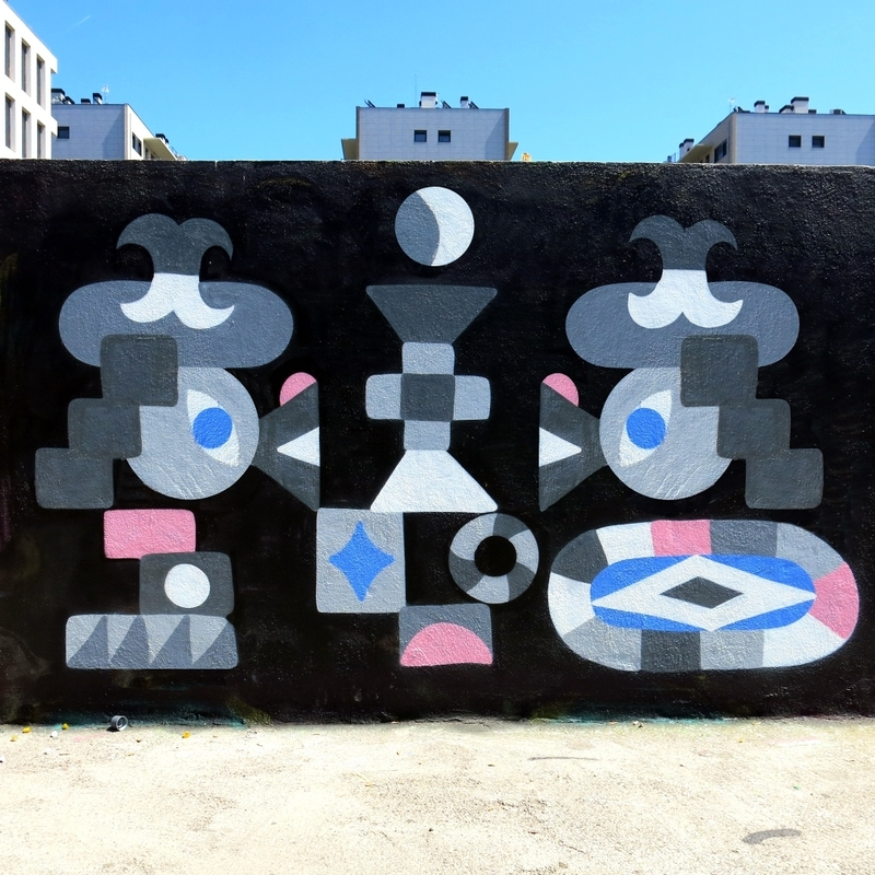 Wallspot - Osier Luther - Barcelona - Poble Nou - Graffity - Legal Walls -