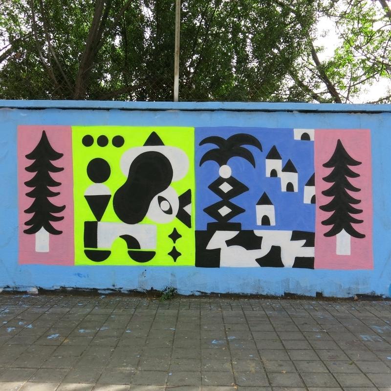 Wallspot - Osier Luther - Barcelona - Forum beach - Graffity - Legal Walls -