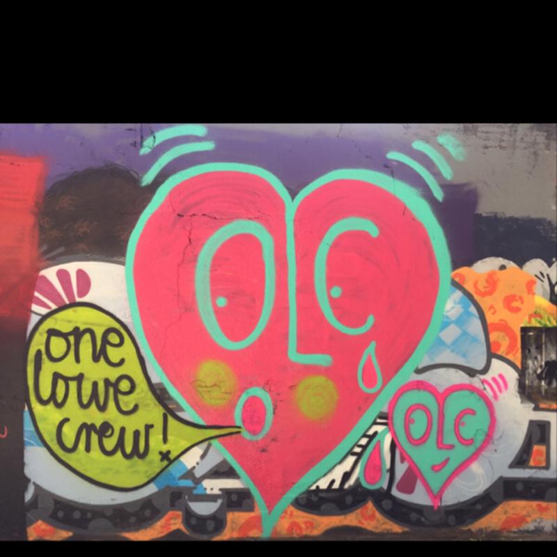 Wallspot - Super G - one LOWE crew                     OLC - Barcelona - Selva de Mar - Graffity - Legal Walls -
