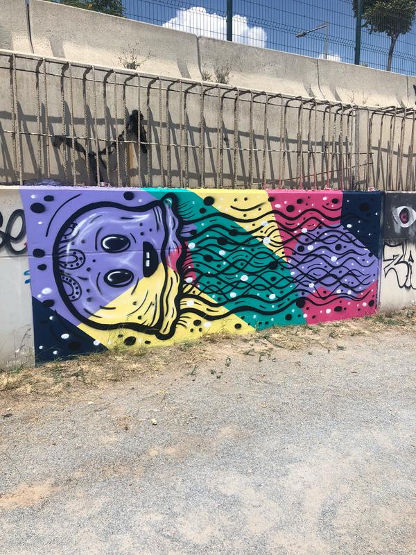 Wallspot - KMG - Forum Place - Barcelona - Forum Place - Graffity - Legal Walls -