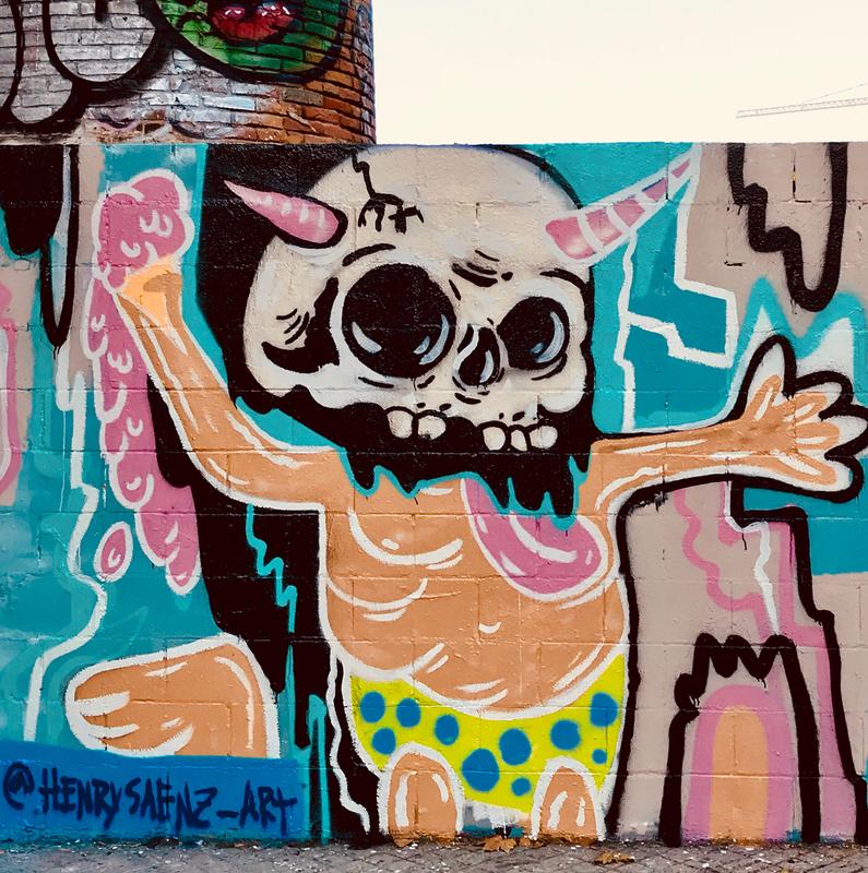 Wallspot - henrysaenz - Barcelona - Poble Nou - Graffity - Legal Walls -
