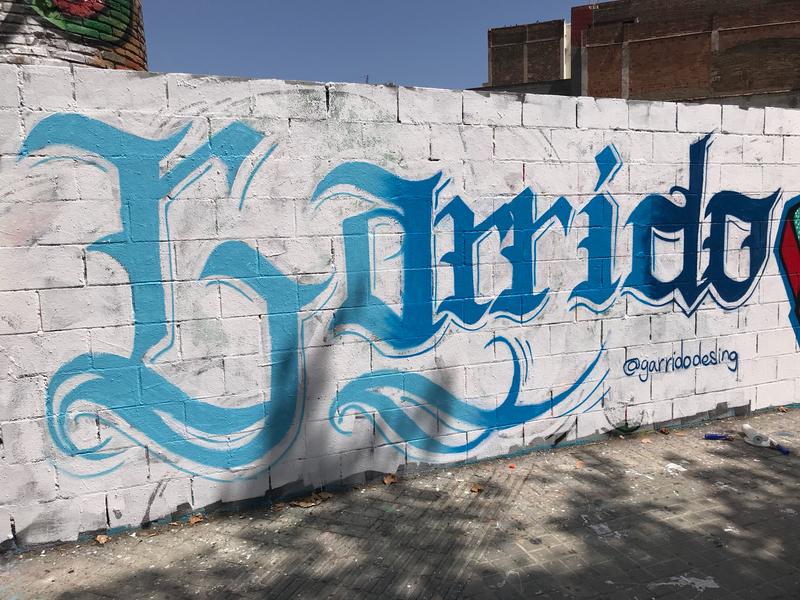 Wallspot - Garrido - Poble Nou - Barcelona - Poble Nou - Graffity - Legal Walls -