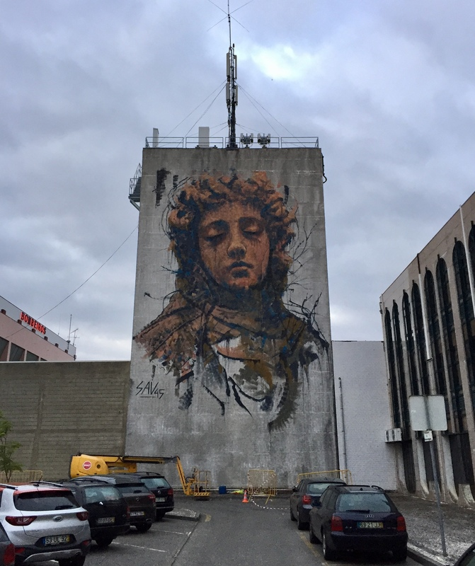 Wallspot - savf - Torre dos Bombeiros - savf - Agueda - Torre dos Bombeiros - Graffity - Legal Walls -