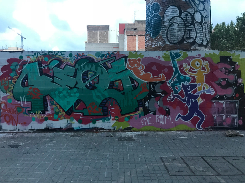 Wallspot - KEOS - Barcelona - Poble Nou - Graffity - Legal Walls -