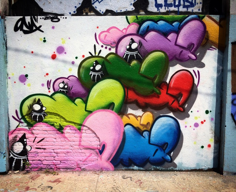 Wallspot - ONA - Agricultura - ONA - Barcelona - Agricultura - Graffity - Legal Walls - Letters, Illustration, Others