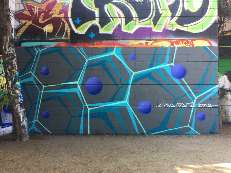 Wallspot - Drë - The Espacio - Barcelona - Drassanes - Graffity - Legal Walls - Others