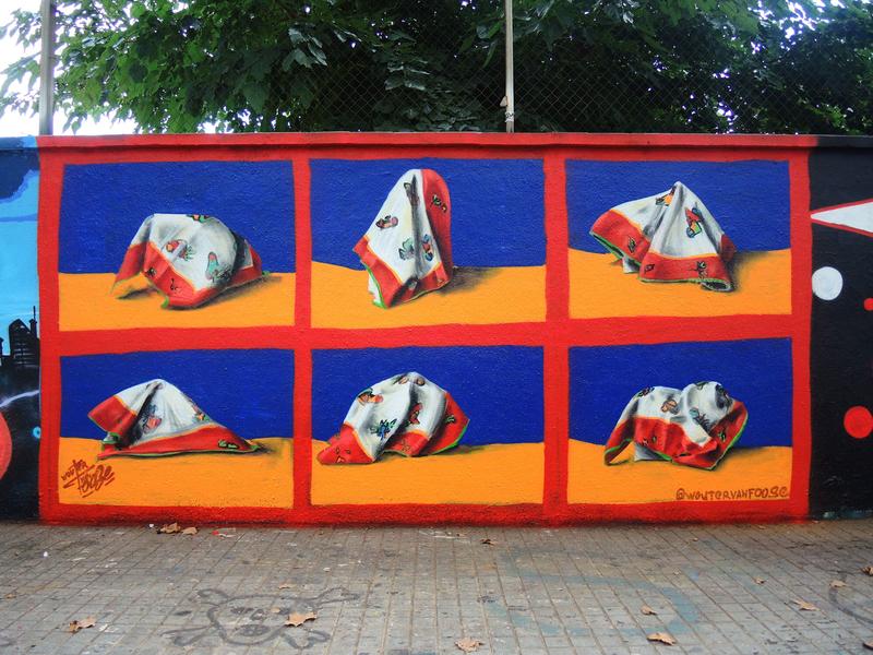 Wallspot - Foose - Agricultura - Barcelona - Agricultura - Graffity - Legal Walls -