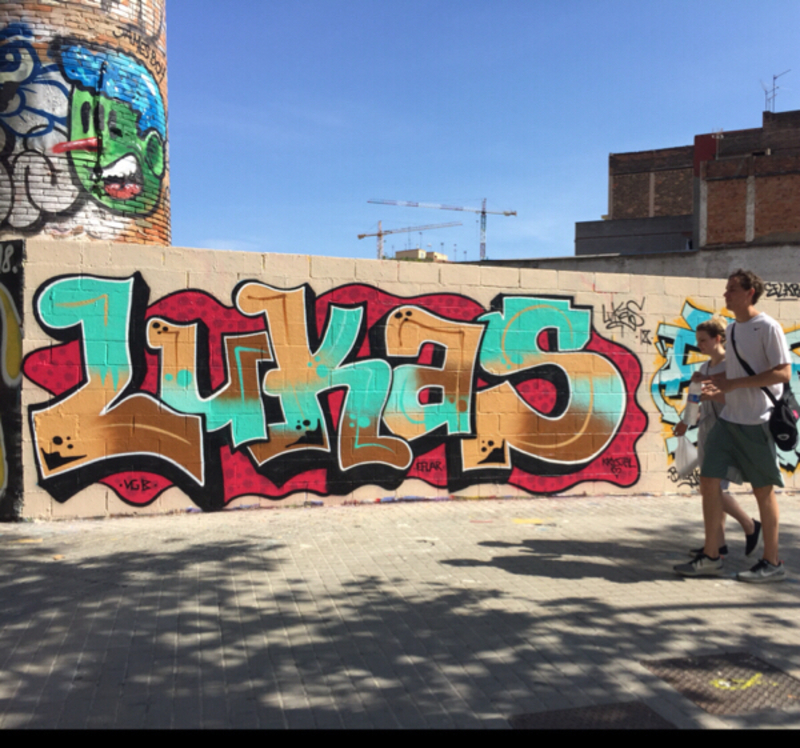 Wallspot - lukas - Barcelona - Poble Nou - Graffity - Legal Walls -