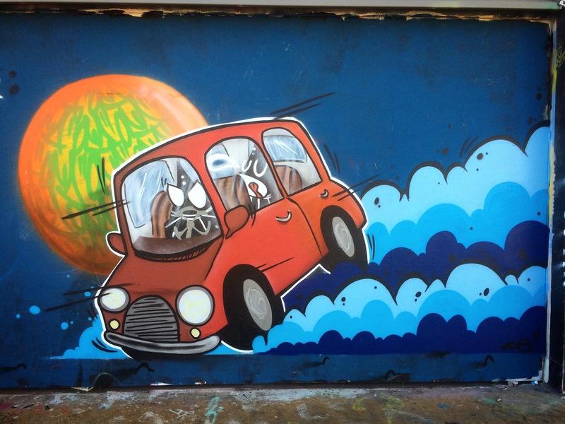 Wallspot - ONA - Tres Xemeneies - ONA - Barcelona - Tres Xemeneies - Graffity - Legal Walls - ,