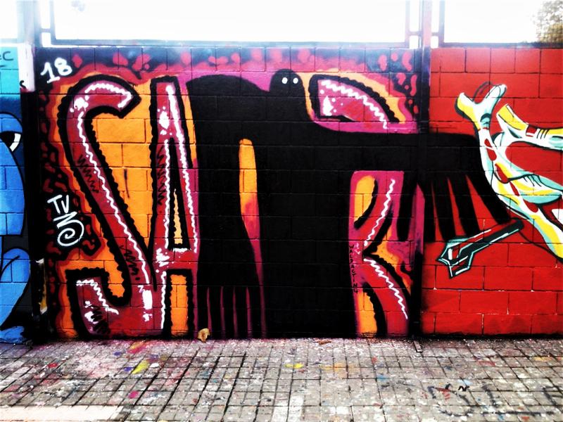 Wallspot - WALDACTING - Drassanes - WALDACTING - Barcelona - Drassanes - Graffity - Legal Walls -
