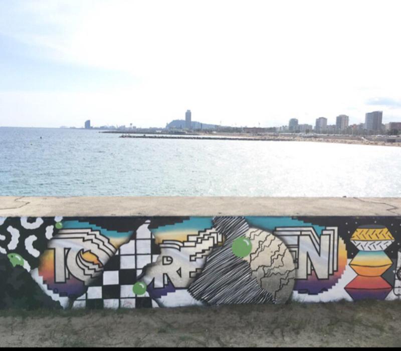 Wallspot - Borneo Modofoker - Barcelona - Selva de Mar - Graffity - Legal Walls -