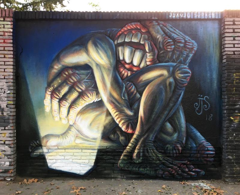 Wallspot - Juanjo_Surace - Selva de Mar - Juanjo_Surace - Barcelona - Selva de Mar - Graffity - Legal Walls -