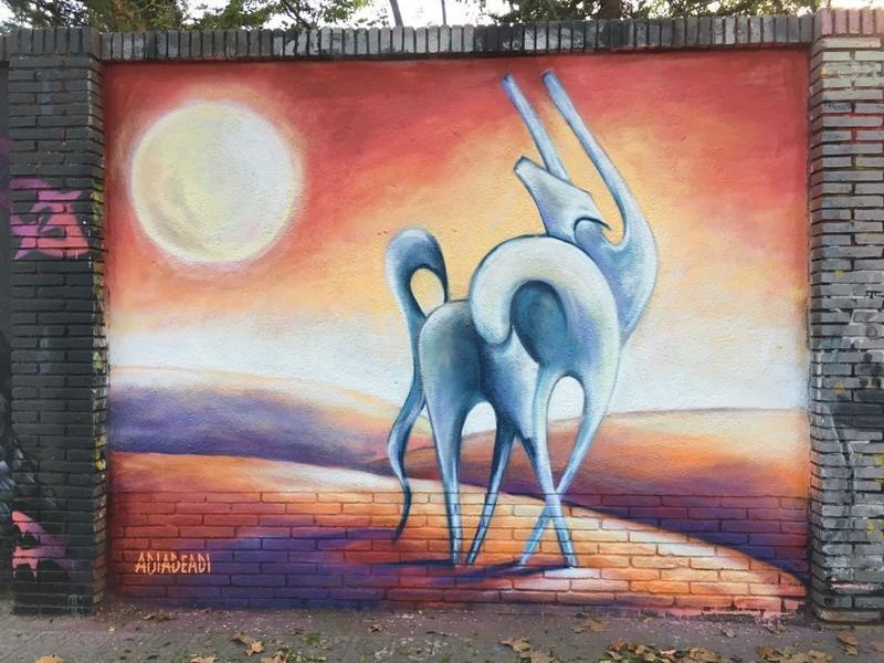 Wallspot - adiadeadi - Selva de Mar - adiadeadi - Barcelona - Selva de Mar - Graffity - Legal Walls -