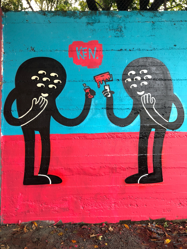 Wallspot - KMG - Aberdeen - Sunnybank Park / Throwupgallery - Graffity - Legal Walls - Illustration