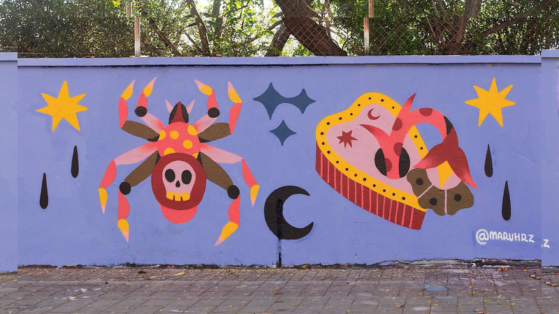 Wallspot - Maruhrz - Barcelona - Selva de Mar - Graffity - Legal Walls -