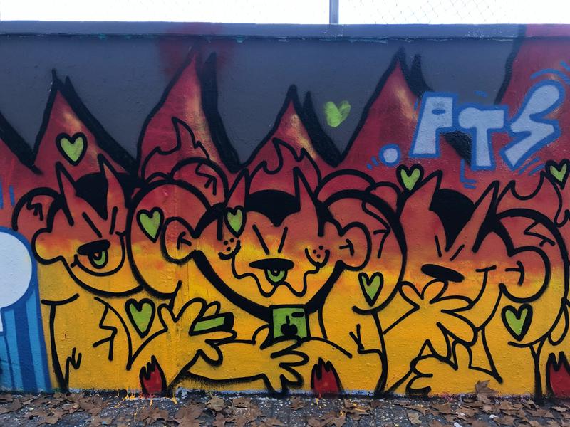 Wallspot - kamil escruela - Barcelona - Agricultura - Graffity - Legal Walls - Il·lustració, Altres