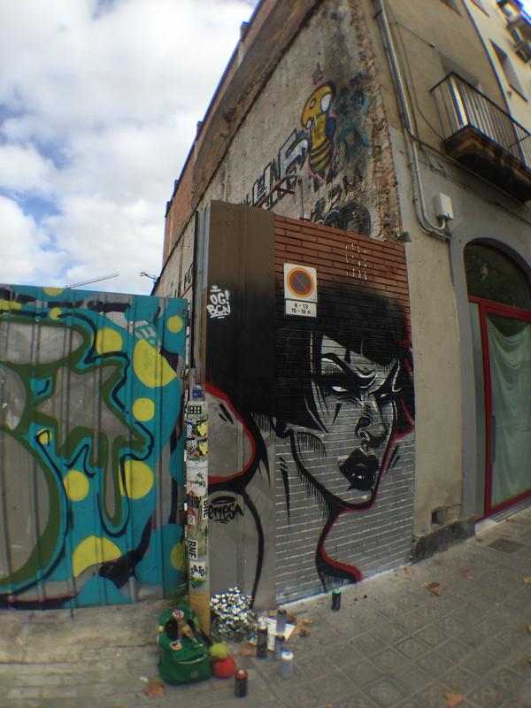 Wallspot - emesa - Poble Nou  - Barcelona - Poble Nou - Graffity - Legal Walls -