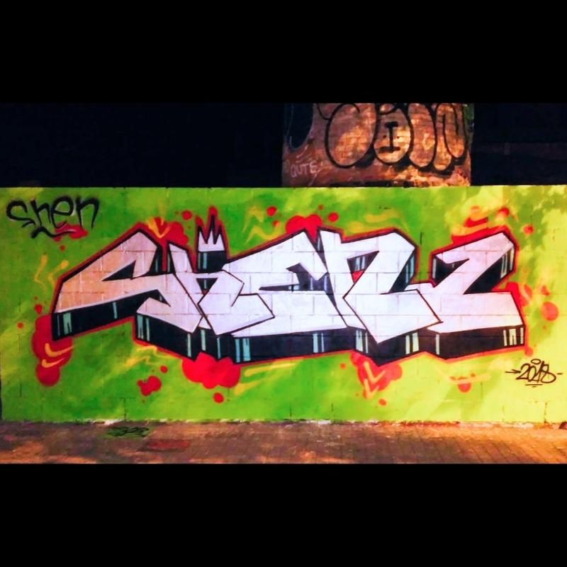 Wallspot - shen - Poble Nou - Barcelona - Poble Nou - Graffity - Legal Walls -