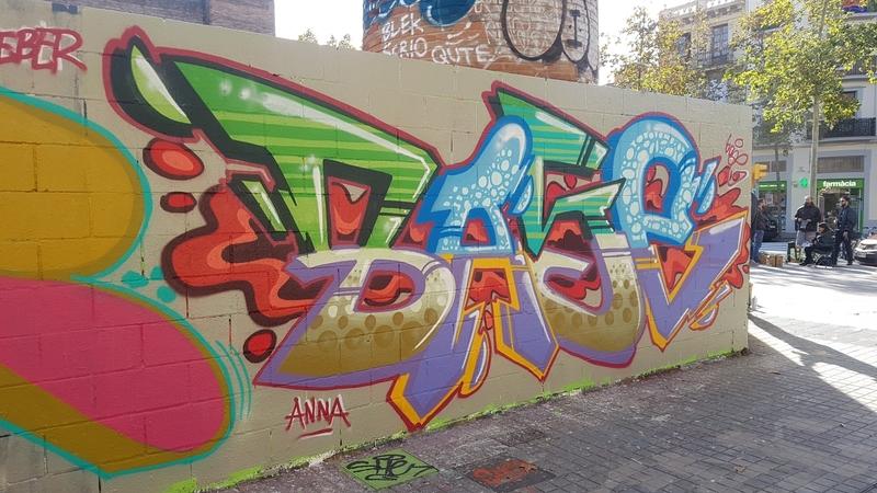 Wallspot - mark - Barcelona - Poble Nou - Graffity - Legal Walls -