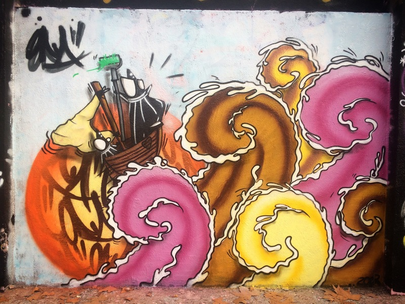Wallspot - ONA - Agricultura - ONA - Barcelona - Agricultura - Graffity - Legal Walls -