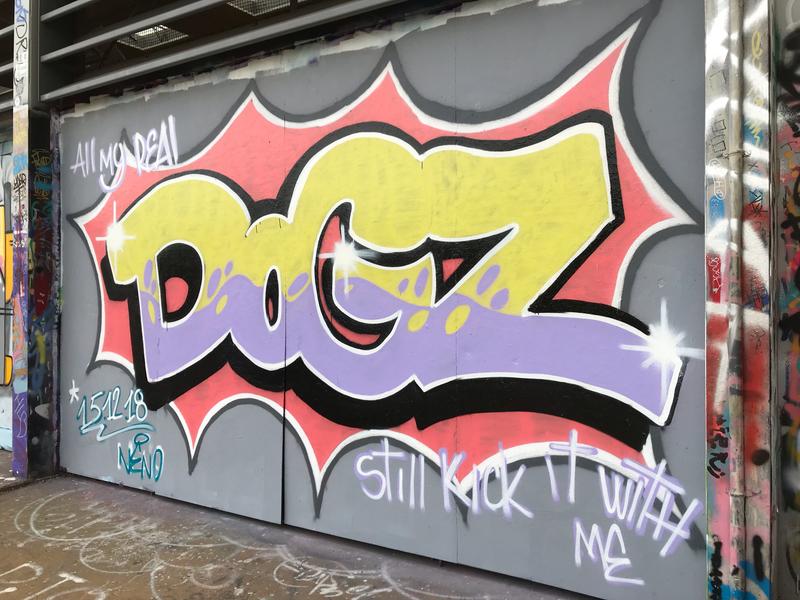 Wallspot - Dogz - Tres Xemeneies - Barcelona - Tres Xemeneies - Graffity - Legal Walls - Letters