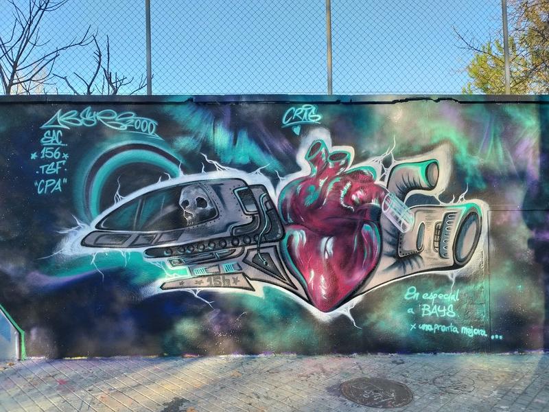 Wallspot - ABSURE2000 - Barcelona - Agricultura - Graffity - Legal Walls -