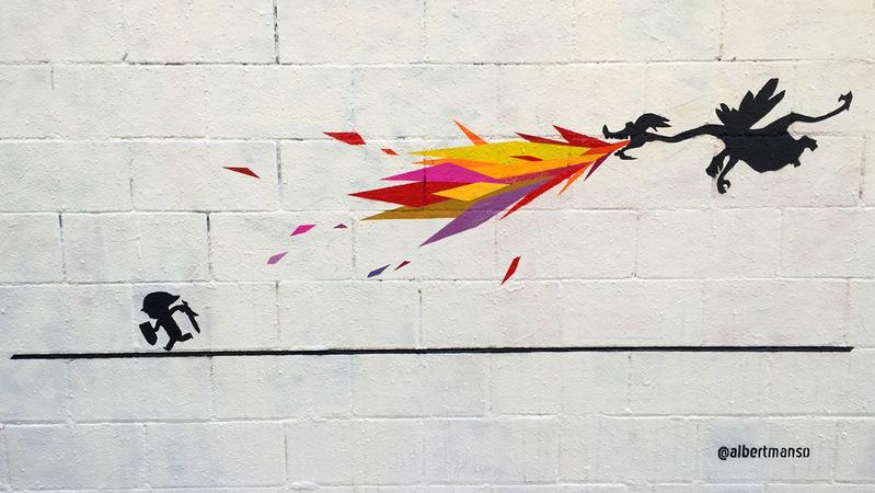 Wallspot - OSNAM - Poble Nou - OSNAM - Barcelona - Poble Nou - Graffity - Legal Walls -