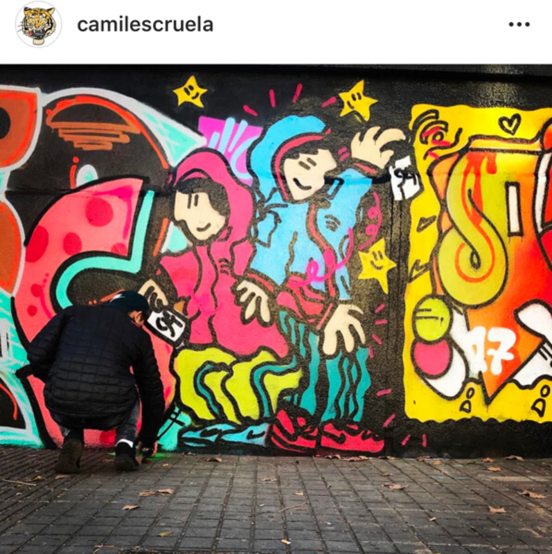 Wallspot - kamil escruela - Barcelona - Poble Nou - Graffity - Legal Walls -