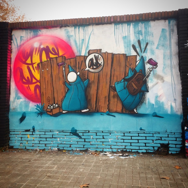 Wallspot - ONA - Selva de Mar - ONA - Barcelona - Selva de Mar - Graffity - Legal Walls - Lletres, Il·lustració, Altres