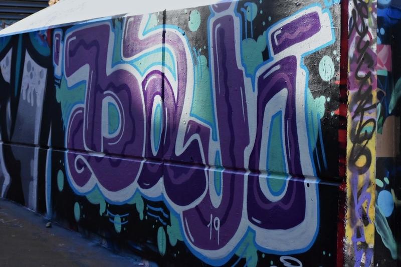 Wallspot - J.Bajo - Barcelona - Tres Xemeneies - Graffity - Legal Walls - Letters