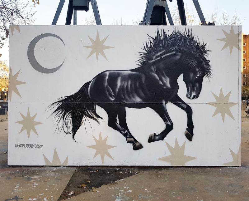 Wallspot - Joelarroyo - Tres Xemeneies - Barcelona - Tres Xemeneies - Graffity - Legal Walls - Others