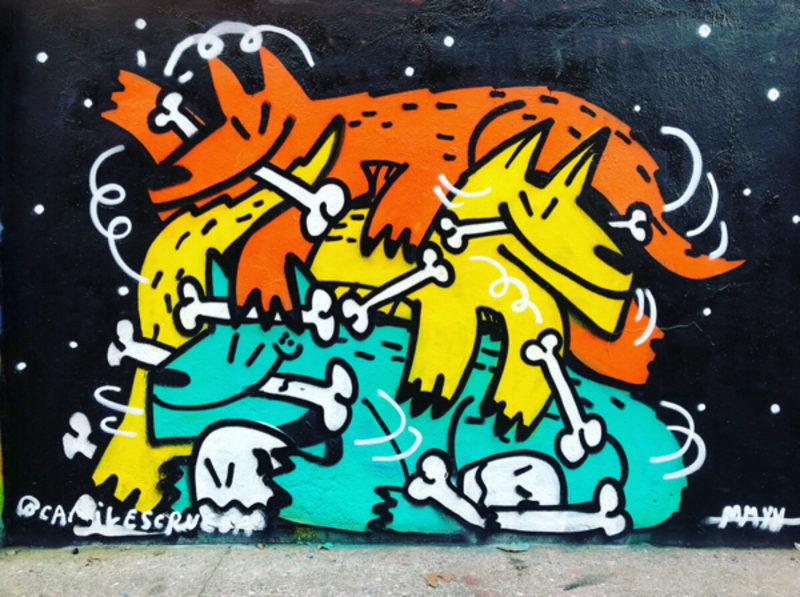 Wallspot - kamil escruela - Barcelona - Agricultura - Graffity - Legal Walls -