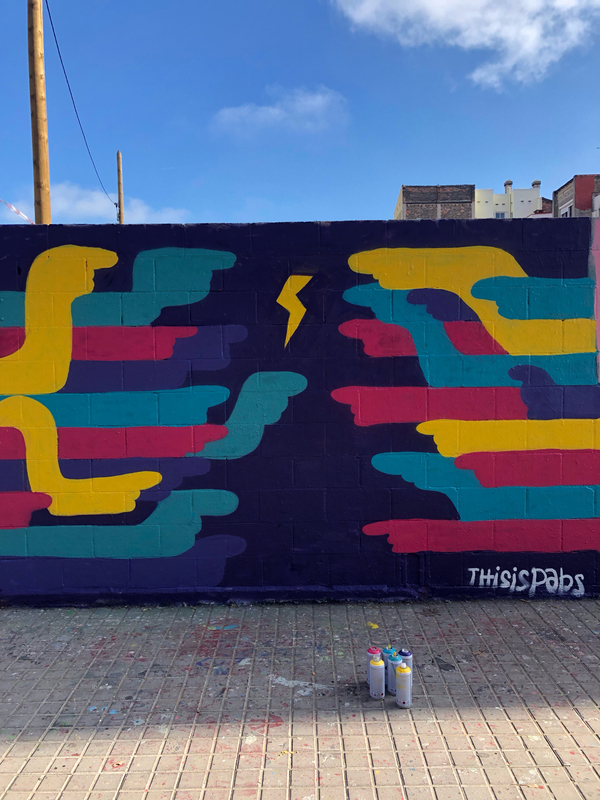 Wallspot - pabs - Barcelona - Poble Nou - Graffity - Legal Walls -