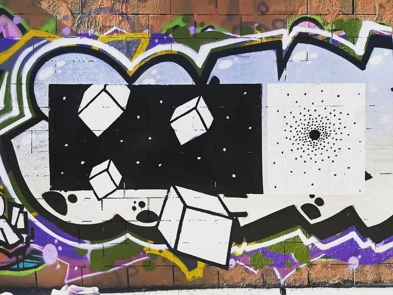 Wallspot - Lowego - Cubos  - Barcelona - Drassanes - Graffity - Legal Walls - Illustration